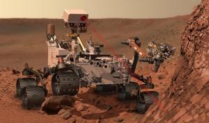 Il rover della NASA, Curiosity.