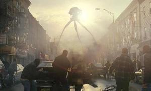 """I tripodi alieni della Guerra dei Mondi. Si deve a questa """"fiction"""" (nella versione radio del 1938) la presa di coscienza che parlare di vita ET è destabilizzante per la società."""