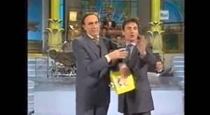 Cavallo Pazzo che irrompe in diretta per rivelare il nome del cantante che NON vincerà quell'edizione di Sanremo