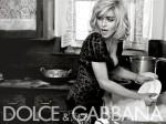 Ciccone in Dolce & Gabbana. Altra griffe italiana amatissima da sempre.